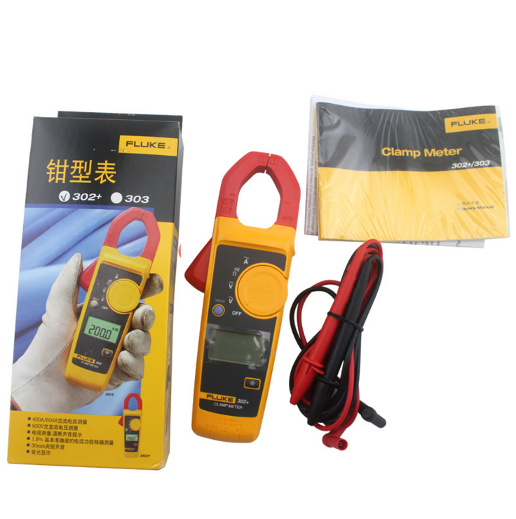 Jual Fluke 322 Ac Current Clamp Meter