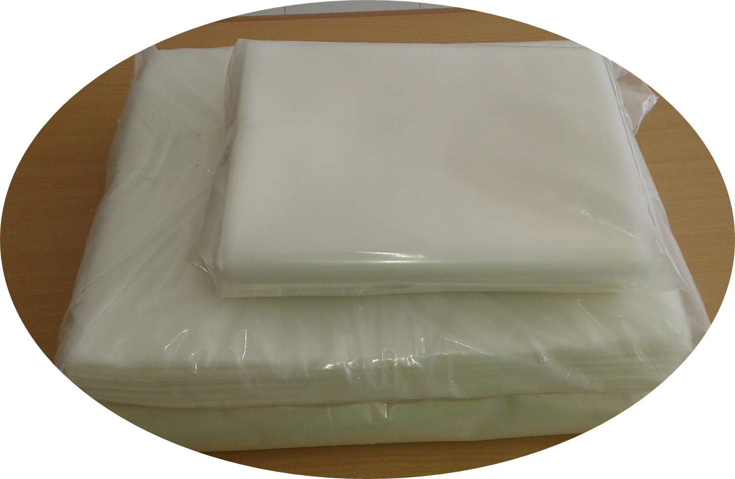 Jual Plastik Sample Bag 10x20cm X 90um Self Seal (100pcs)