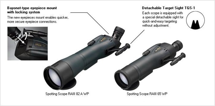 Jual Teropong Nikon Spotting Scope Raiii 65 Wp 20-60x65mm